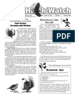Summer 2009 Wingtips Newsletter Prescott Audubon Society