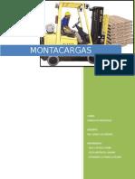 Informe Montacargas