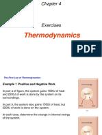 4 Thermodynoamics Exercises