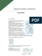 Macrolidos Tetraciclinas y Cloranfenicol