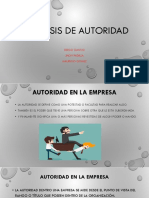 Analisis de Autoridad
