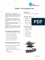 TM8000 SDK Developers' Kits - Product Information Sheet