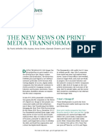 BCG the New News on Print Media Transformation