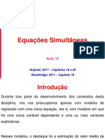 Econometria201401-Aula16-EquacoesSimultaneas