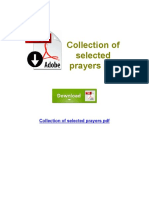 Collection of Selected Prayers PDF