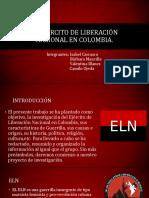 El Ejército de Liberación Nacional en Colombia