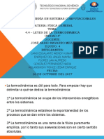 4.4 -Leyes de La Termodinamica