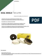 DUAL SHIELD 7100 ULTRA _ Consumibles de Soldadura _ Productos y Soluciones _ ESAB