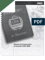Manual de Preparacion Examen CISA 2008