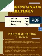 Perencanaan Strategis Jimmy