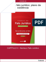 Teoria Do Fato Jurídico - Plano Da Existência - Marcos Bernardes de Mello -CAP 2