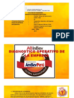 Diagnostico Operativo Ambev Peru