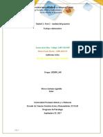 Unidad 1 Fase 2 - Análisis Del Proyecto Foro Aporte Laura de La Hoz (1)Borrador