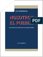 Leo Huberman. Nosotros El Pueblo.