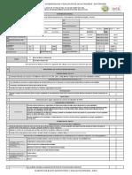 Lista de Cotejo Plan de Gestión Del Riesgo de Desastres