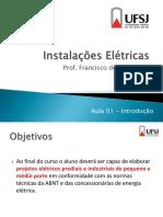 Aula 01 - Introdução - Francisco Dias