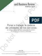 Cadena de Utilidad-Servicio