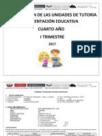 Unidades Tutoria 4to 2017 MODIFICADO