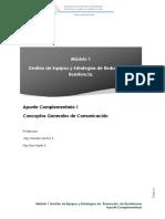 Apunte Complementario 1 Conceptos Generales de Comunicación