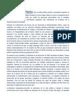 La Educacion Durante El Peronismo.