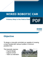 Wired Robotic Car