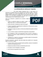 01 - Seguridad en La Operación de Vehículos y Equipos