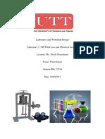 Laboratory and Workshop Design Lab 2