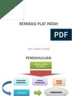 Reparasi Plat Patah-- 2017