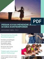 Peran Ayah Mendidik Anak (1)