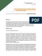 x Congreso de Alaic - Acumulación de Televisores en Colombia Desde Ponencia Arizmendi