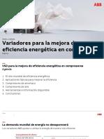 Mejora Energética en Compresores