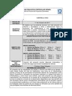 Informe Parcial de Proyectos