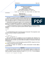 Practica No. 1 (Ambiente y Comandos Basicos de Scilab)