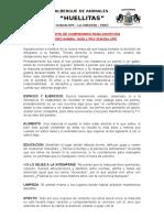 Carta Adopcion Huellitas