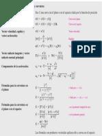 Formulas r, Vel, Acel