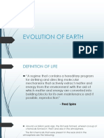 Evolution of Earth