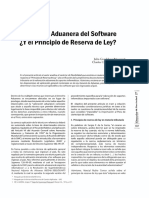 VALORACION ADUANERA DEL SOFTWARE