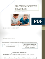 Diabetes Mellitus en Pacientes Geriatricos (1)