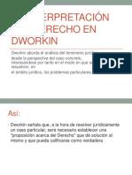La Interpretación Del Derecho en Dworkin