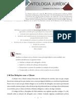 Deontologia Juridica - Unidade 4