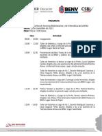 """""""Día Nacional del Libro"""" PROGRAMA ACTIVIDADES NORMAL VERACRUZANA del 13 al 15 de noviembre"""