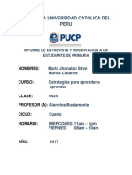 Pontificia Universidad Catolica Del Peru 2017