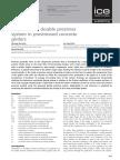 Behaviour of Double Prestress System in Prestressed Concrete Girders