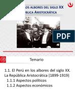 Upc_he66_ppt1 La República Aristocrática (1)