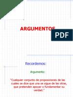 (1)Diagramacion de Argumentos