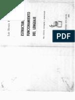 Estructura y Funcionamiento Del Lenguaje. Luis Hernán Ramírez, 1982,Lima, 4ta edición.