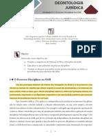Deontologia Juridica - Unidade 5