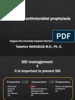 Antimicrobial Prophylaxis - Takehiro Wakasugi, M.D., Ph.D.pdf