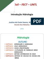1. Apresentação Introdução Hidrologia
