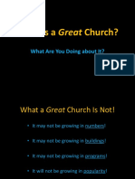 What is a Great Church